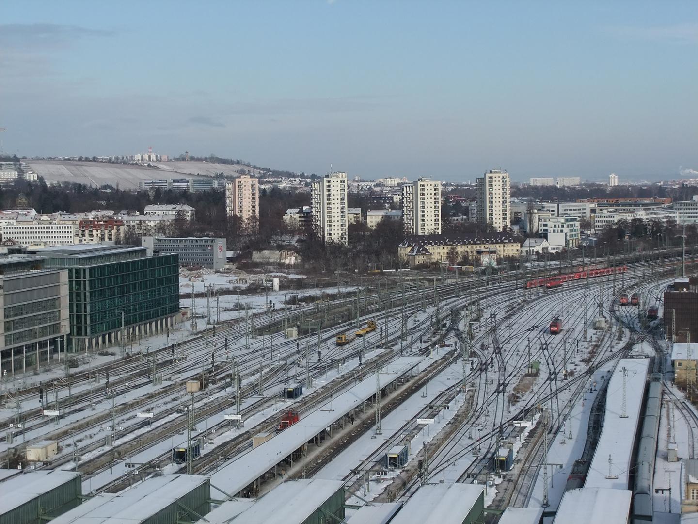 Stuttgart im Winter 2