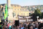 Stuttgart K21 -ZORN in beim Schweigemarsch der Ü29 999 am 20.8.10 -