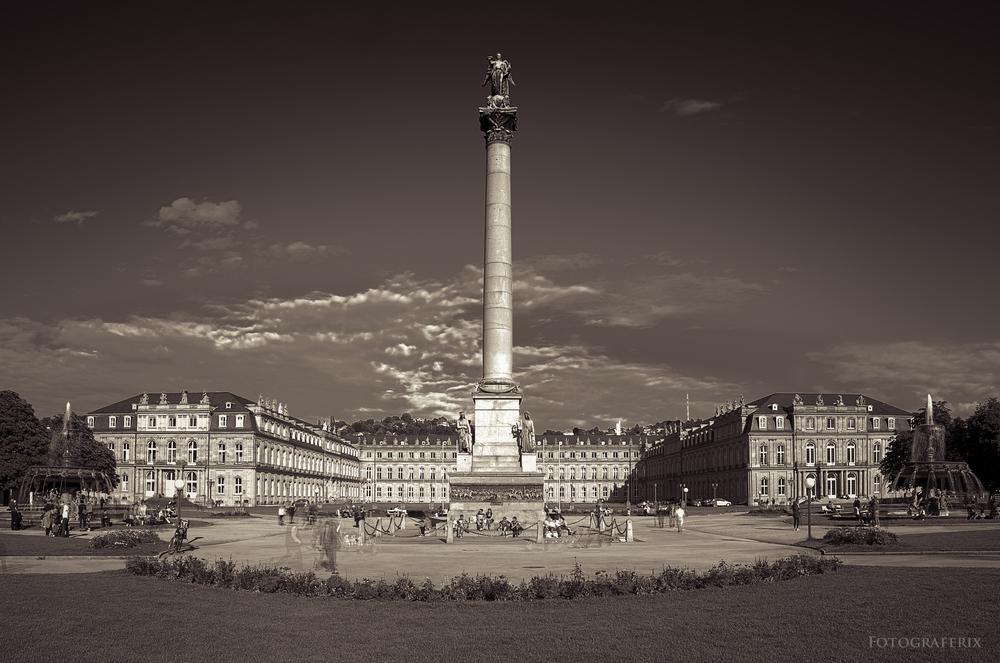 Stuttgart Schlossplatz SW