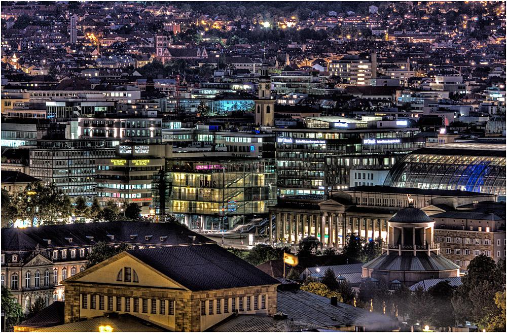 Stuttgart verdichtet
