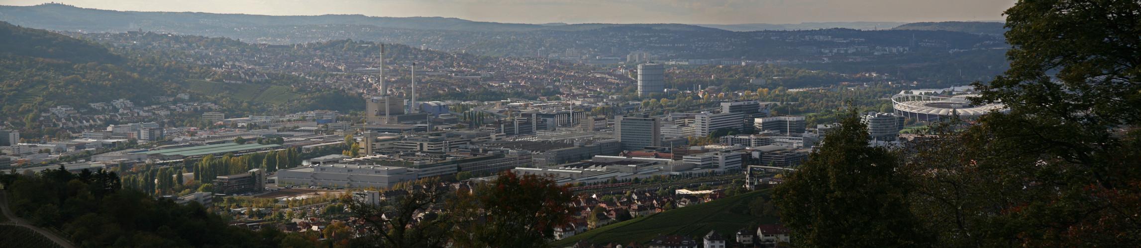 Stuttgart vom Rotenberg 2