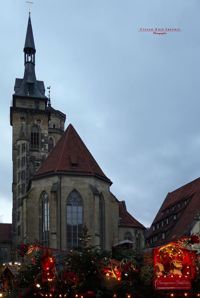 """""""Stuttgarter Weihnachtsmarkt Dächer-Impressionen 1"""""""