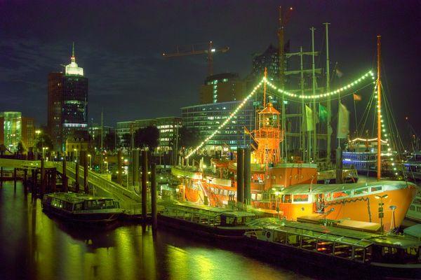 ..stylische Hafenstadt..