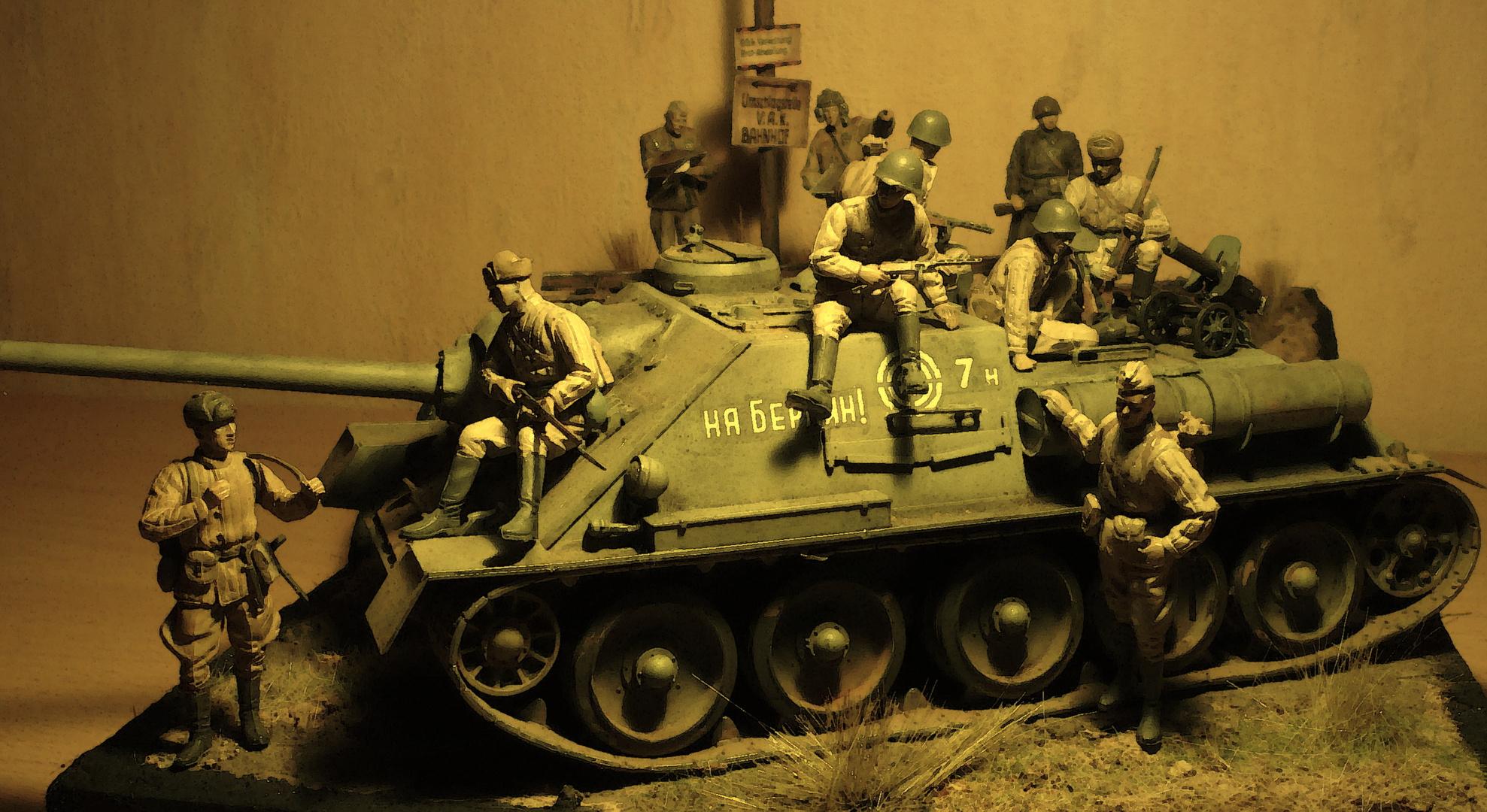 """SU100 - """"1. Ukrainische Front"""" Reitweiner Sporn 1945"""