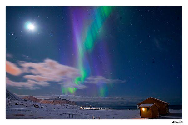 ... Sua Maestà, L'Aurora Boreale....