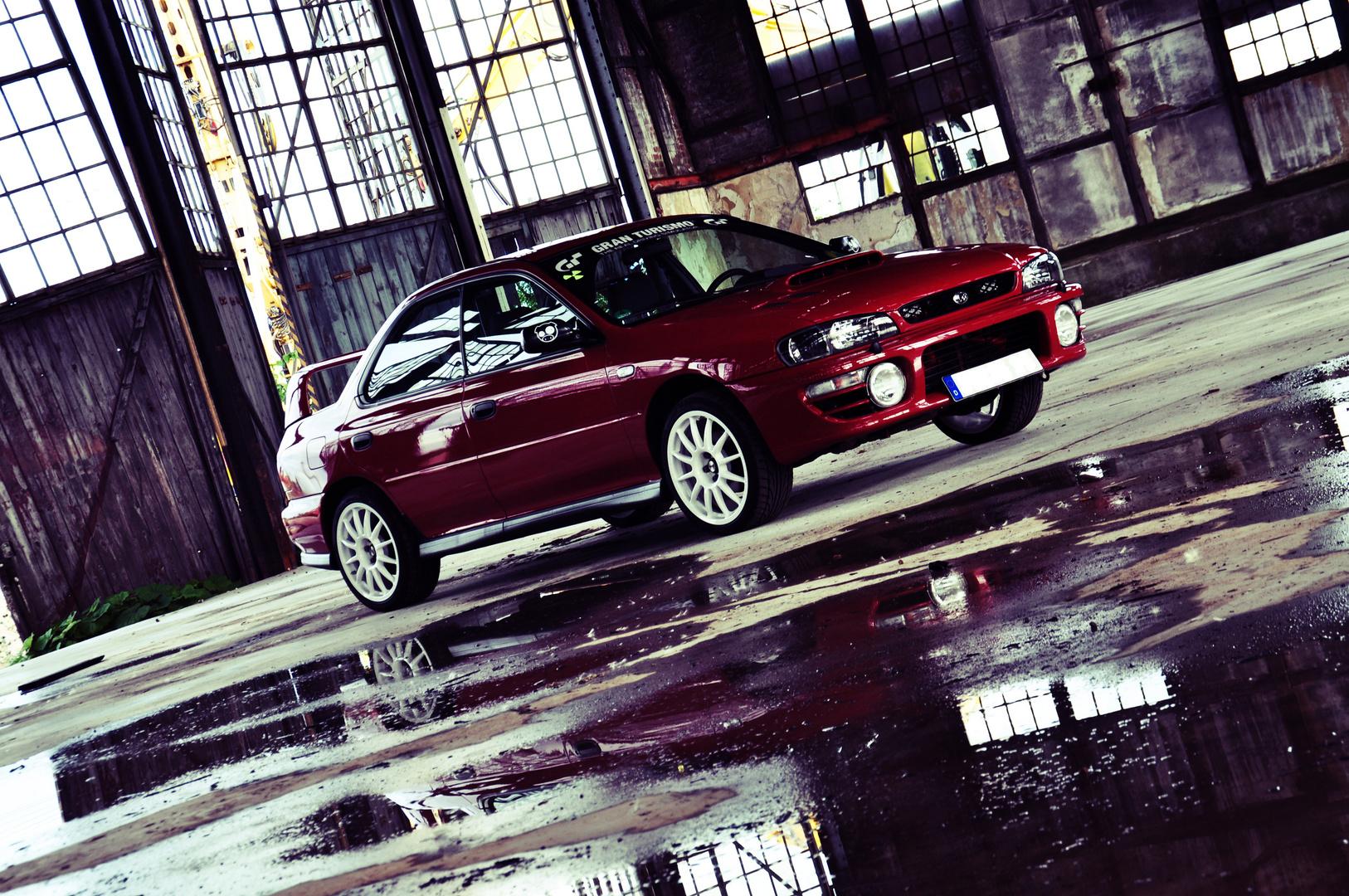 Subaru im Lokschuppen