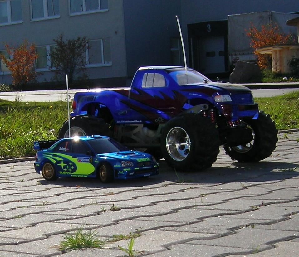Subaru Impreza & FG Monstertruck