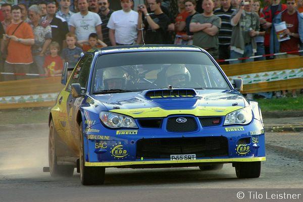 Subaru Impreza WRC @ Erzgebirgsrallye 2007