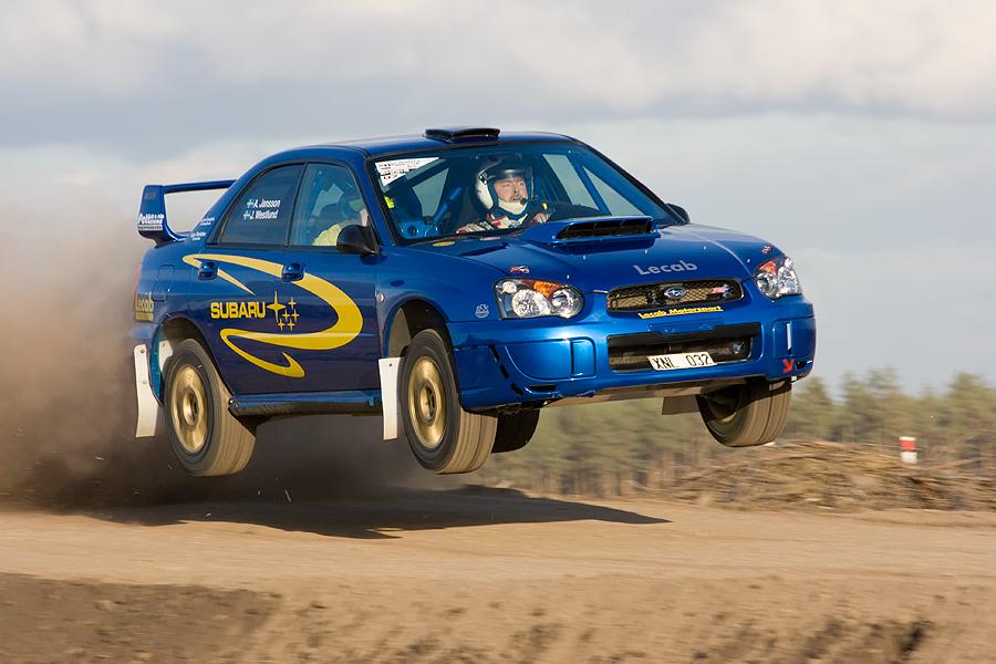 Subaru Sprung (Lausitzrallye ´07)