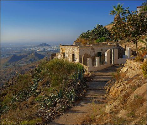 Subiendo a la ermita
