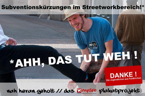 Subventionskürzung im Streetworkbereich!