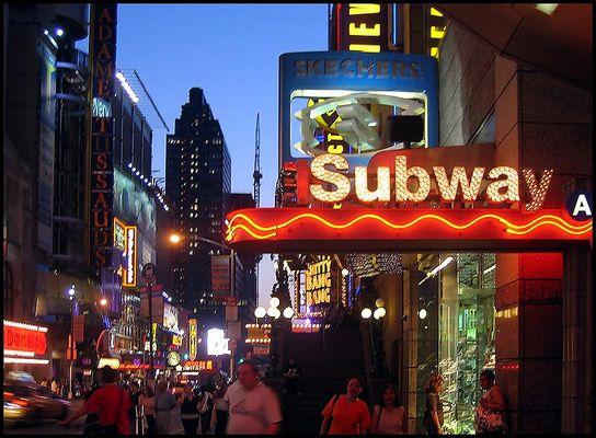 Subway A New York
