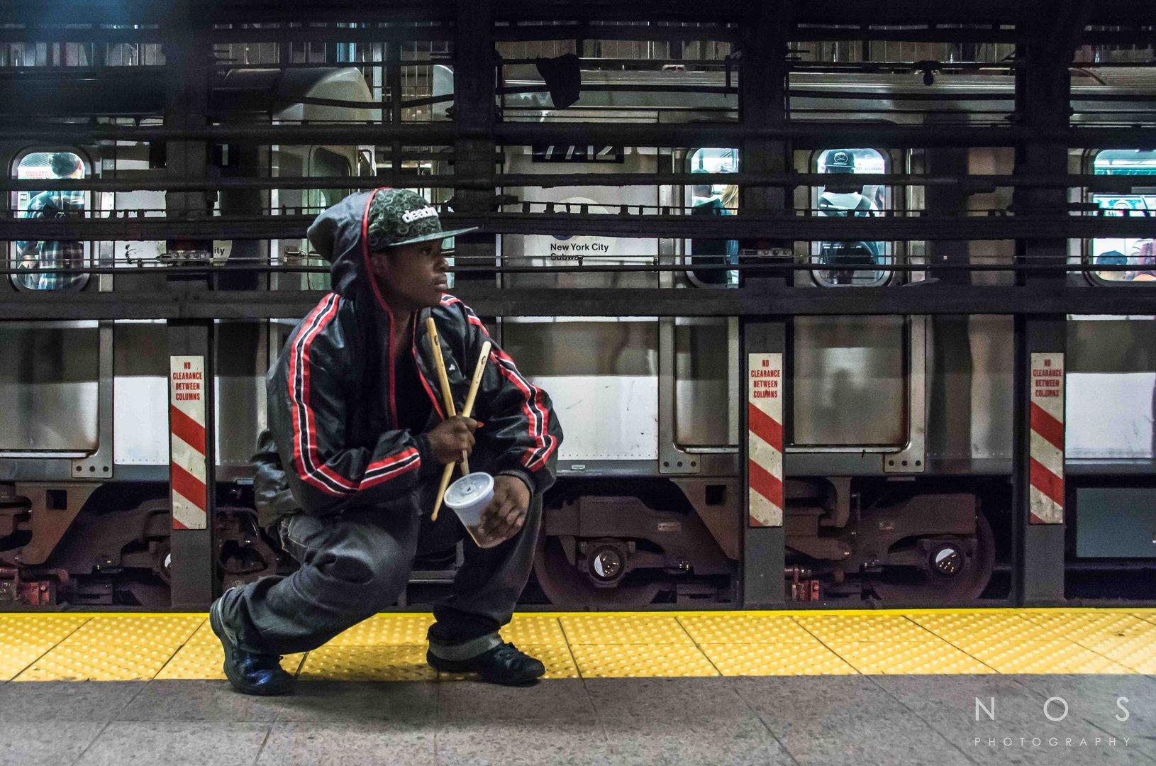 Subway Drummer