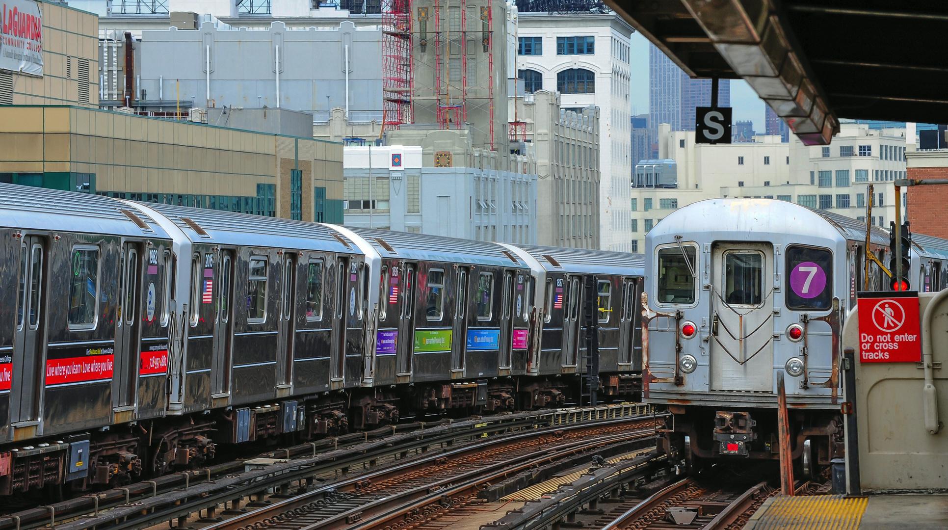 Subway Station 33 Street - Rawson Street Queens