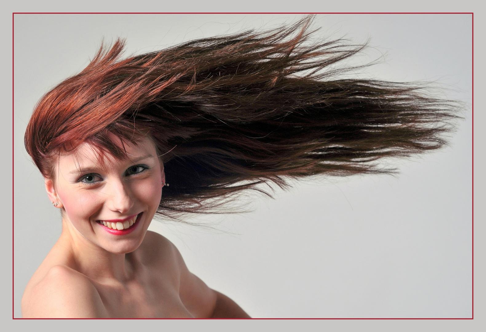 Sue voll durch´n Wind :-)