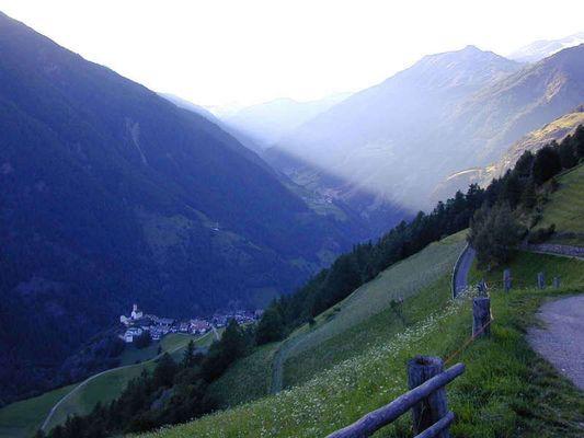 Süd Tirol am Abend