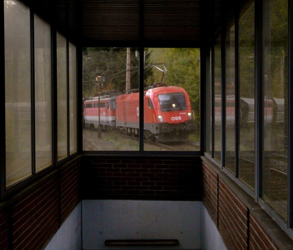 Südbahn-Exkursion 2013 - Experimente