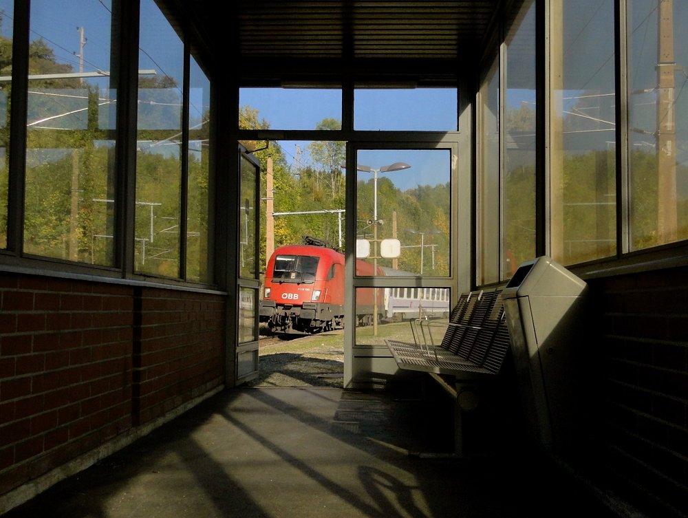 Südbahnexkursion 2014 - Die Tür ist auf ..