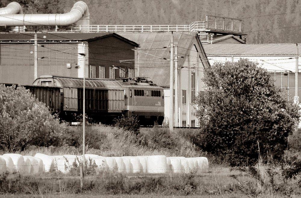 Südbahnexkursion 2014 - Industriemotiv im Mürztal
