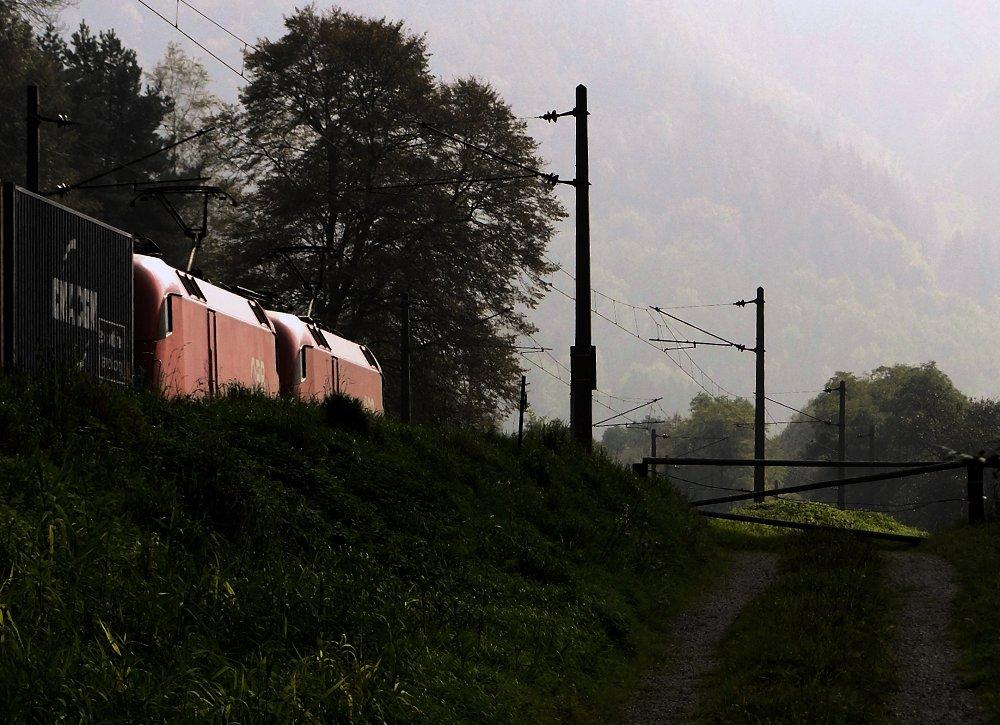 Südbahnexkursion 2014 - Wer zu spät kommt ...
