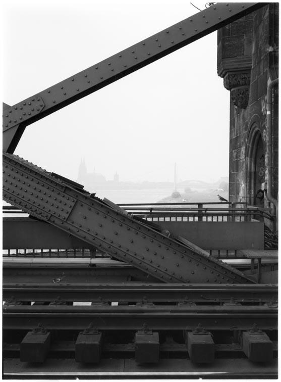 Südbrücke und Dom, Köln 2005