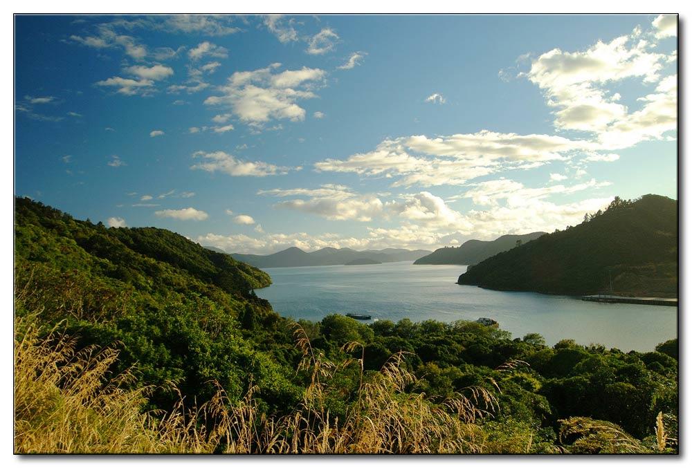 Südinsel eine schöne Bucht / 1