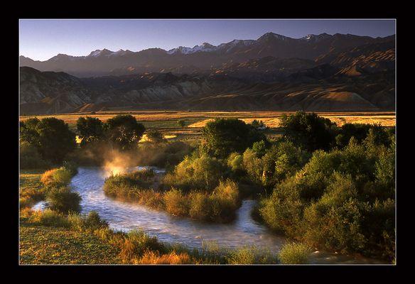 Südlich von Bishkek...