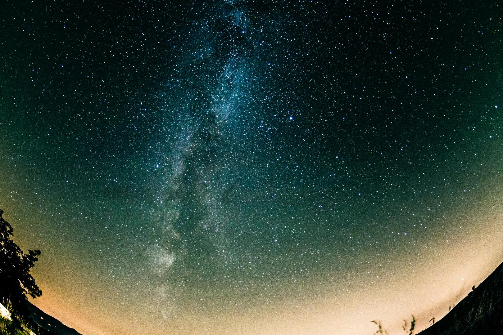 Südlicher Himmel mit Milchstraße (Wasserkuppe, Hessen)