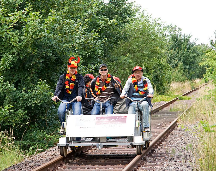 Südpfalz-Draisinenbahn Foto & Bild | bus & nahverkehr