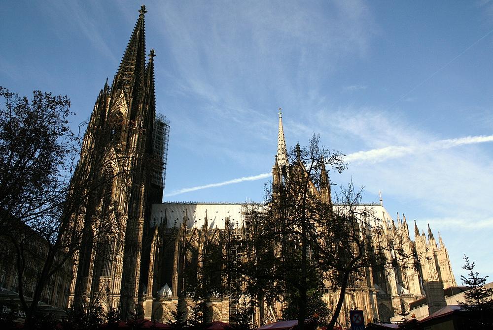 Südseite Kölner Dom (29.11.2011) (2)