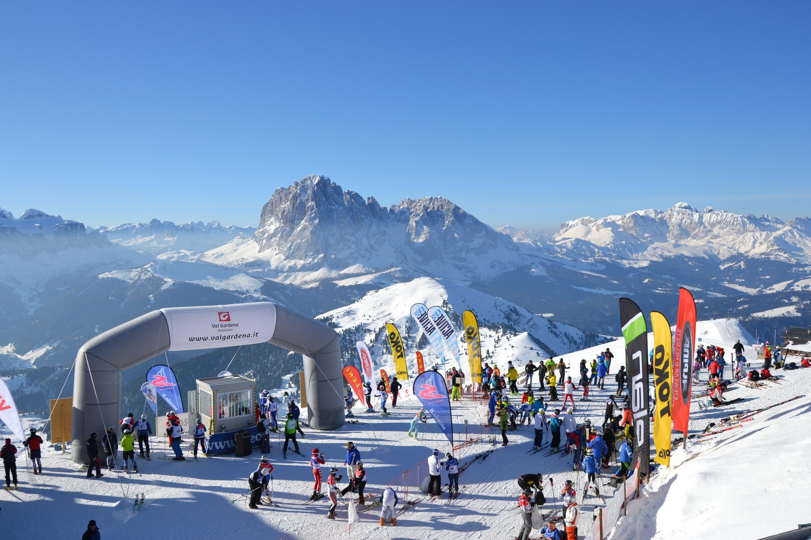 Südtirol Gardenissima 2014 - der längste Riesentorlauf der Welt