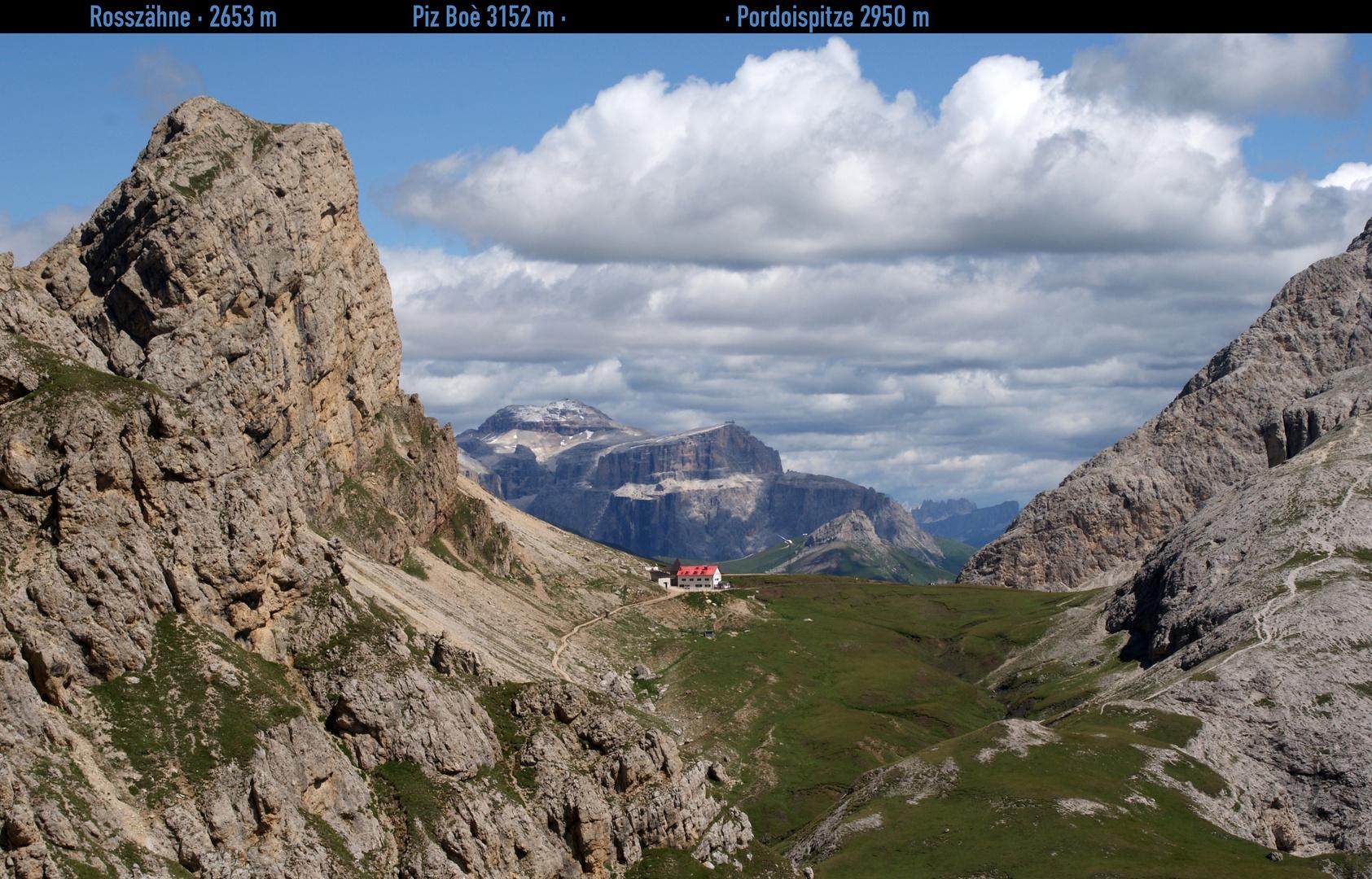 Südtirol: Schlernpfad am Tierser Alpljoch …