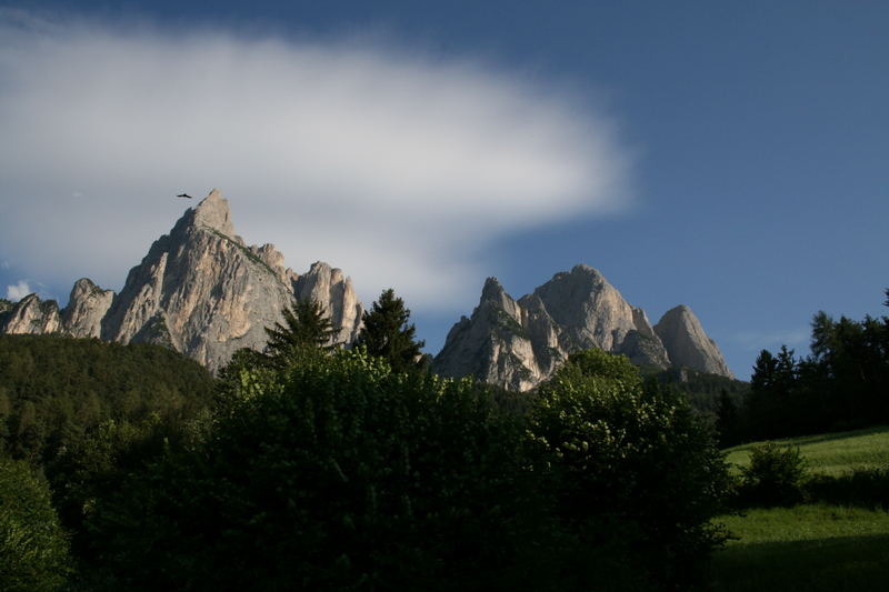 Südtiroler Abendstimmung