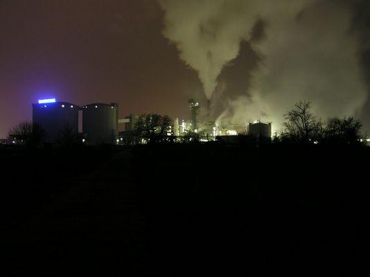 Südzucker bei Nacht