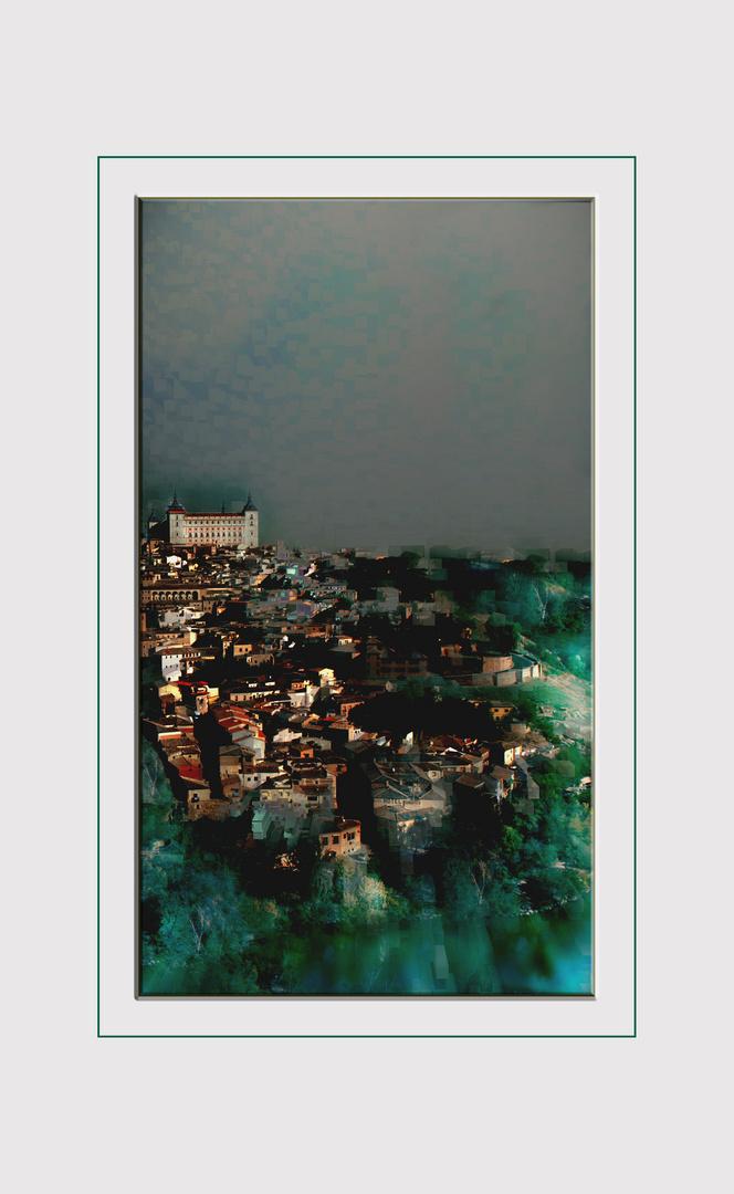 Sueño de pintor... la ciudad nace