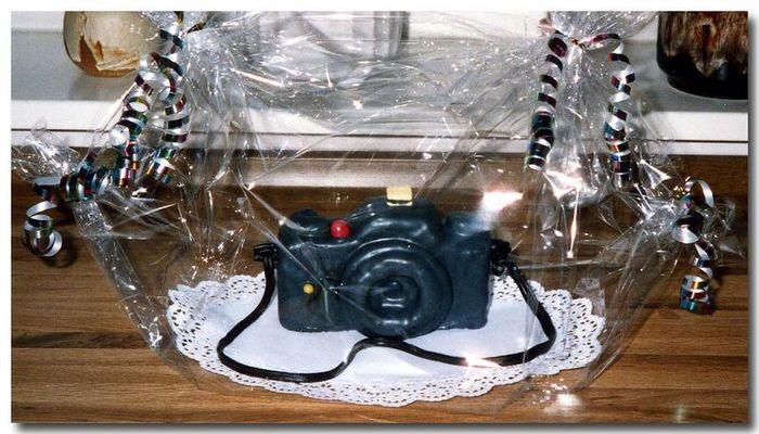 Süßer Fotoapparat