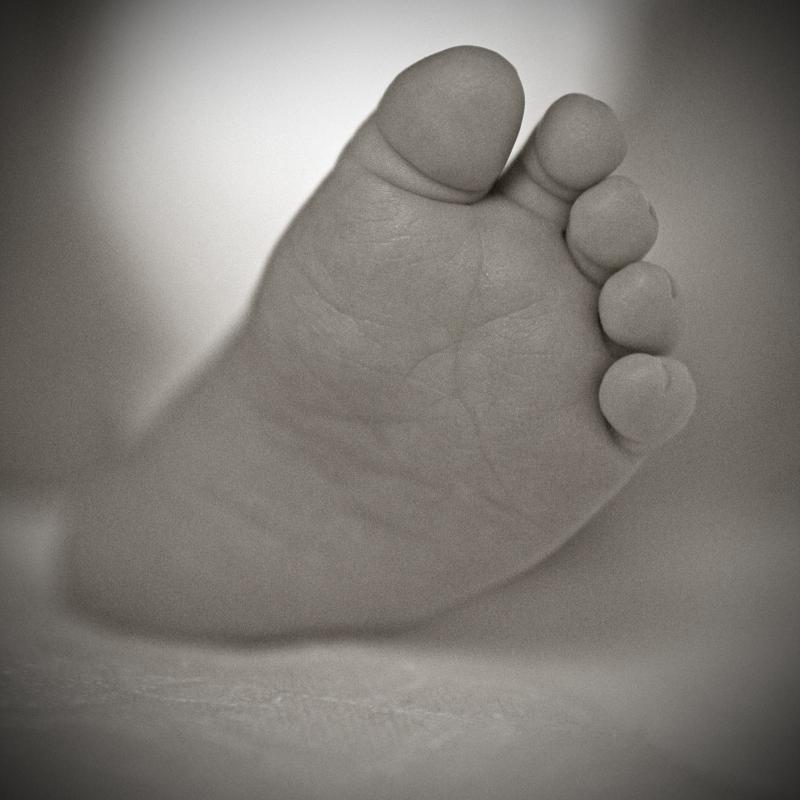 süßer Fuß