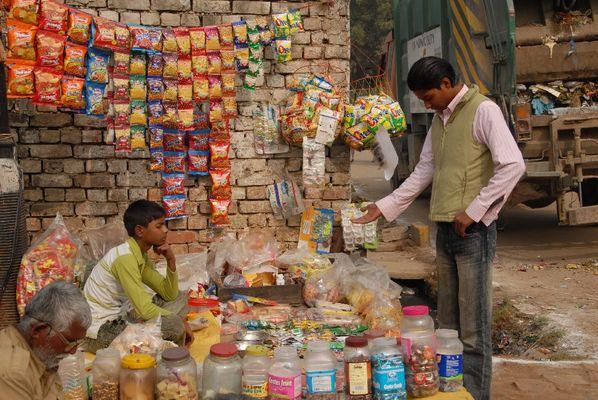 Süssigkeitenhändler