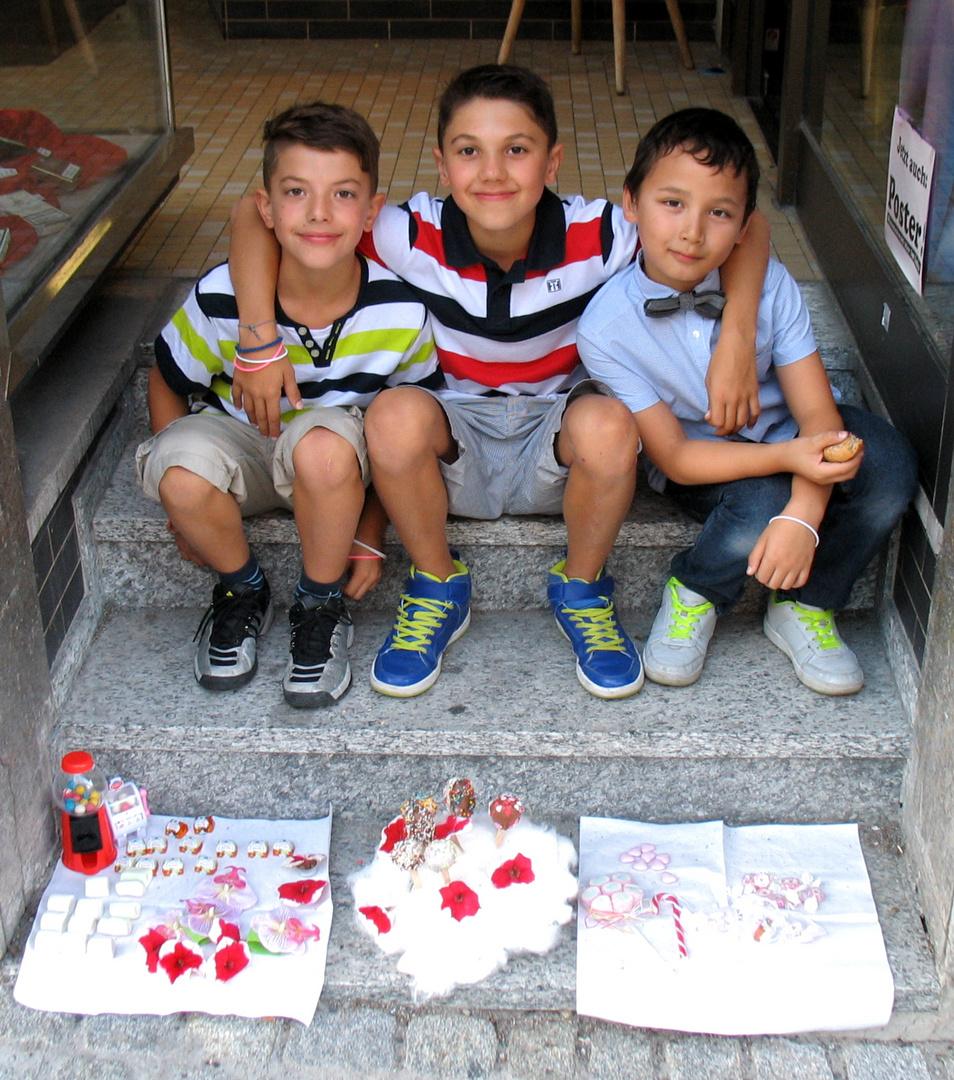 Süßigkeitenverkäufer