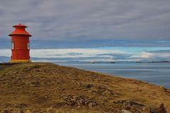 Súgandisey - lighthouse
