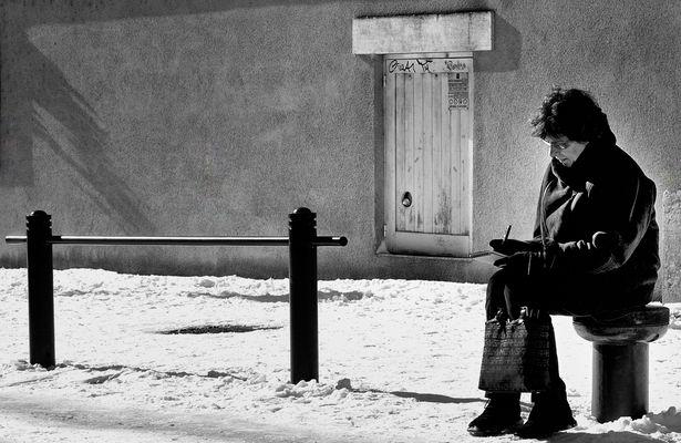 """""""Suis à Périgueux....Il neige....Je pense à toi..."""""""