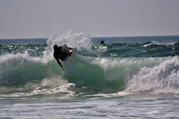 Suivre la vague avec légèreté....