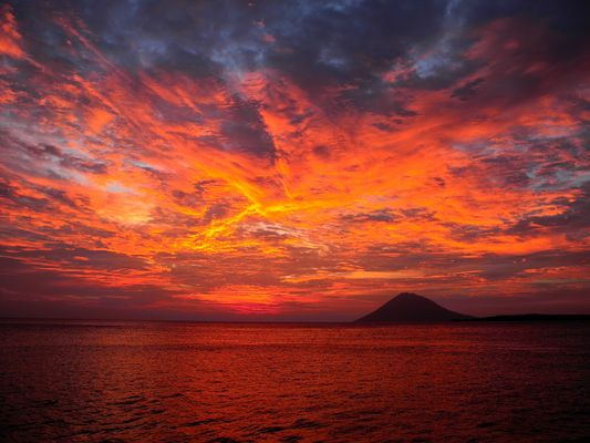 Sulawesi Sunset Manado Tua