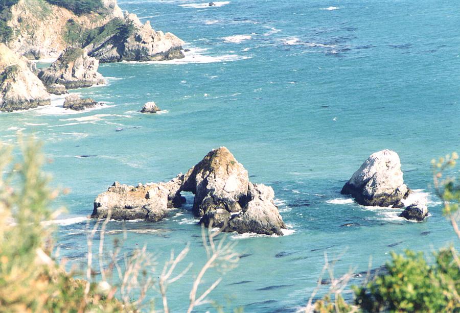 Sulla coste della California