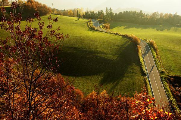 Sulla strada dell'autunno