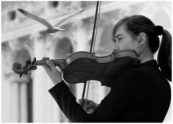 Sulle ali della musica... l' istante prima
