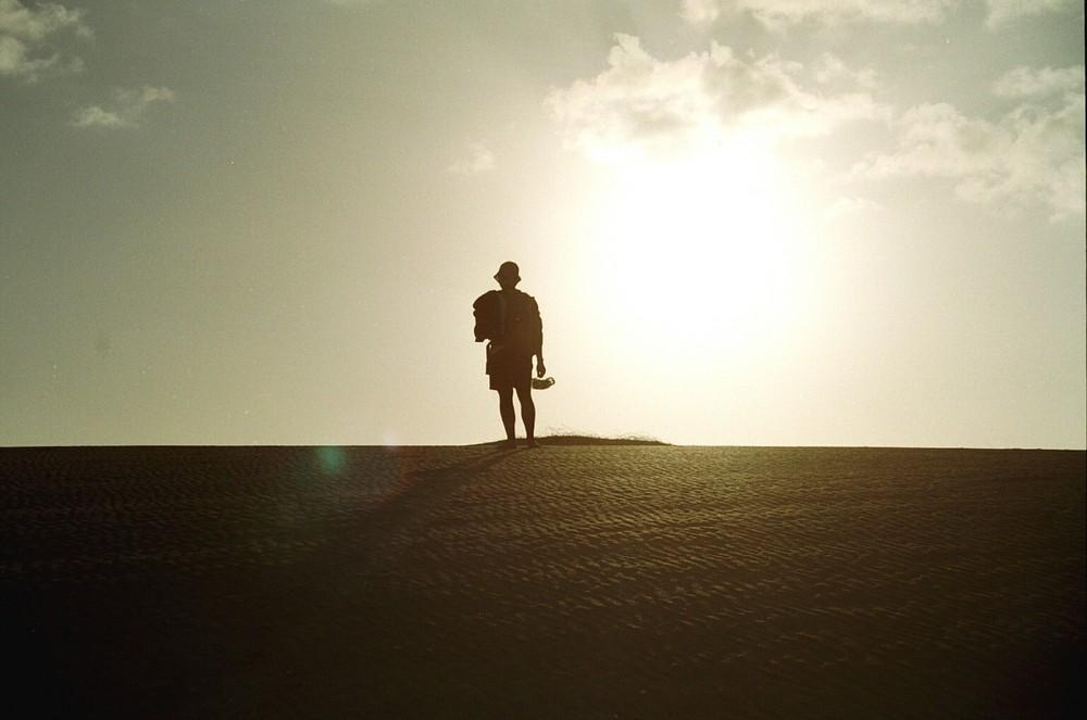 Sulle dune di Coralejo