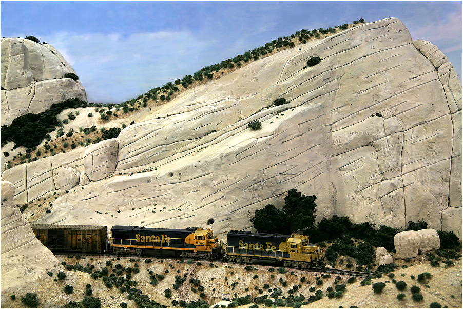 Sullivan's Curve, Süd-Kalifornien