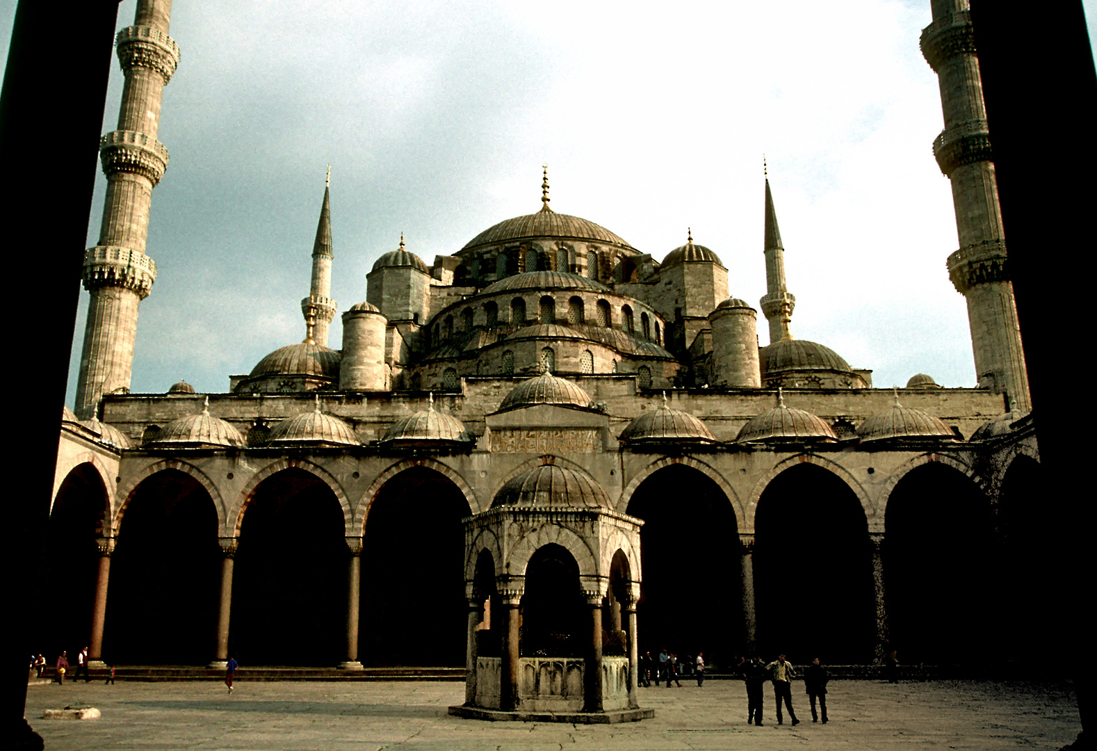 """Sultan Ahmed Camii """"Blaue Mosche"""" in Istanbul"""