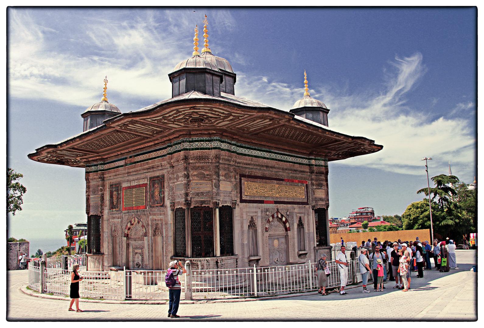 Sultan Ahmed III. Brunnen